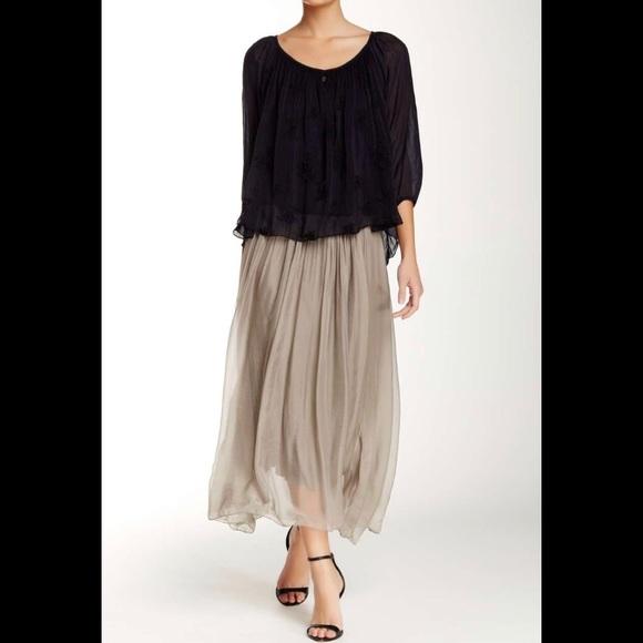 0baf5f5da2 lola Skirts | Luma Convertible Silk Tulle Skirt | Poshmark